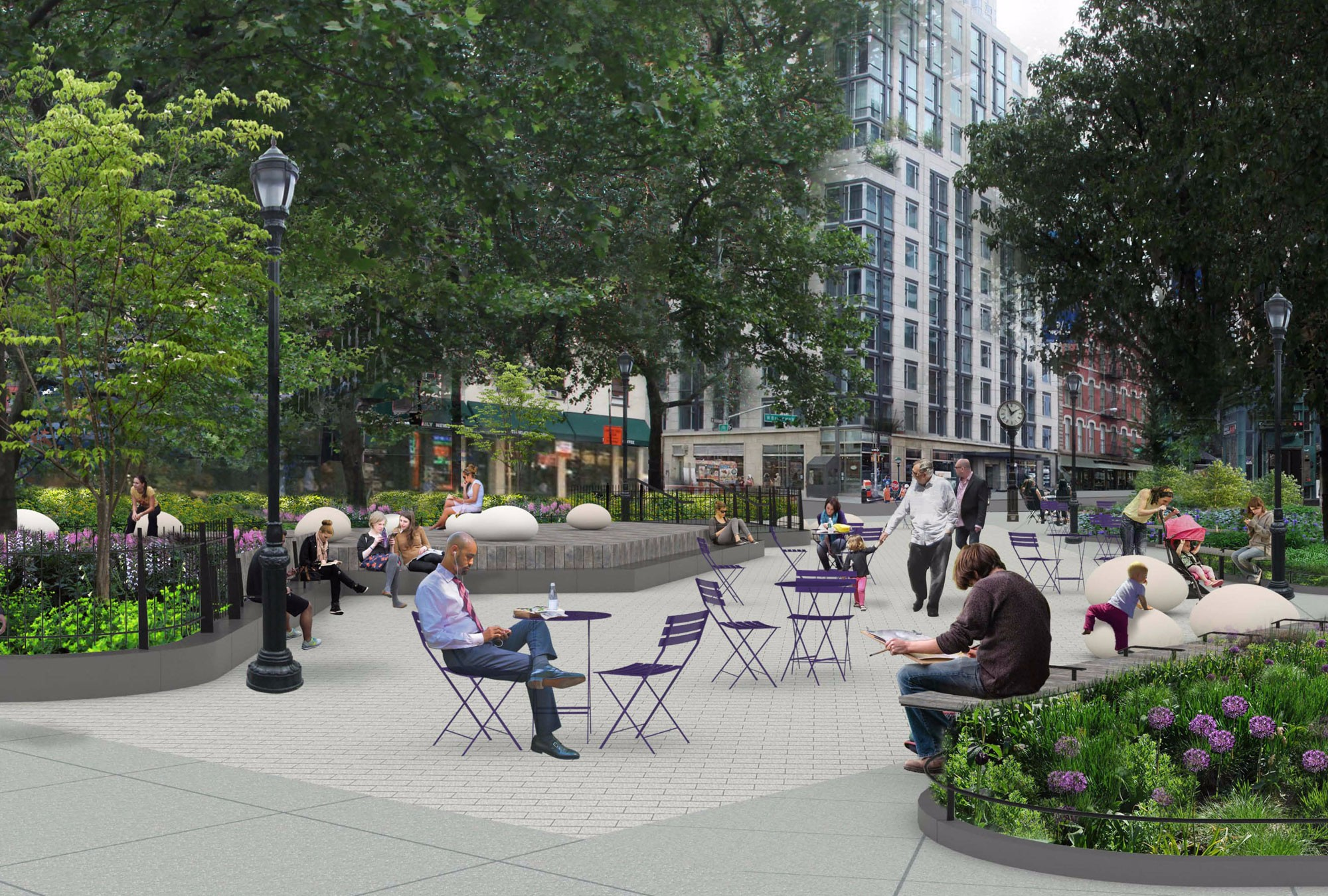 Bogardus Plaza Re-development
